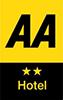 AA 2 Star Hotel Award badge