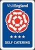 Visit England 4 Star Self Catering Award badge