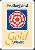 Visit England Gold Award badge