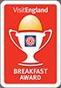 Visit England Breakfast Award badge