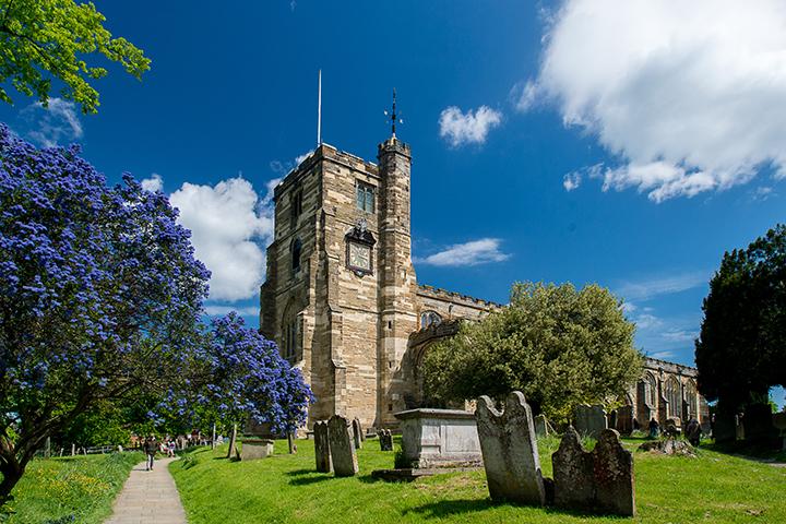 St Dunstan's Church at Cranbrook, Tunbridge Wells, Kent