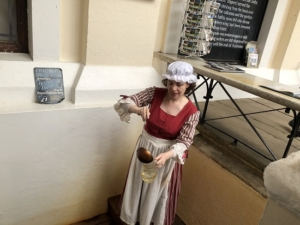 Dipper serving Chalybeate Spring Water | Guided Tour of Royal Tunbridge Wells