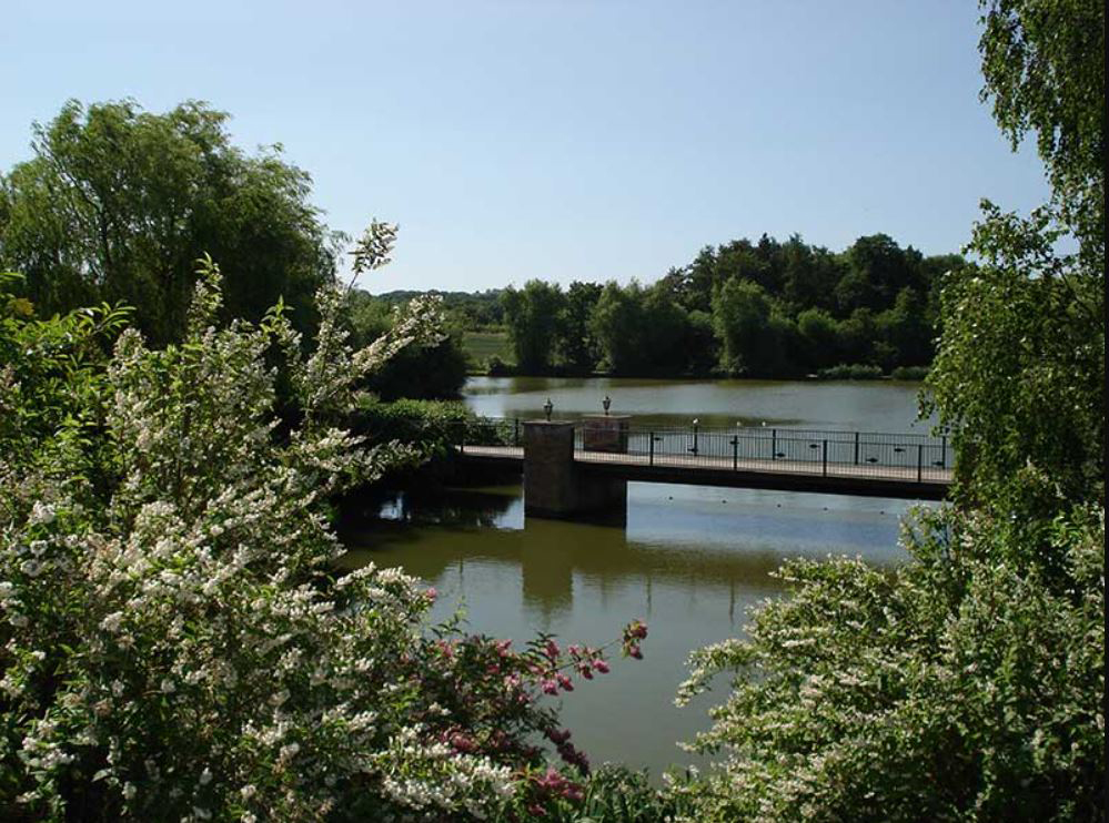 Hawkhurst Fish Farm, main lake, Tunbridge Wells