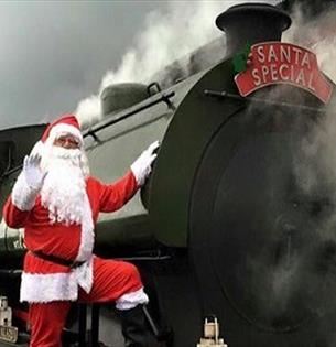Santa Specials at the Spa Valley Railway
