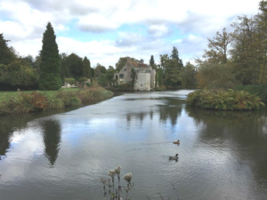 Scotney Castle and Moat, family walks and English history at a National Trust treasure in the region of Tunbridge Wells | Clare Lush Mansell