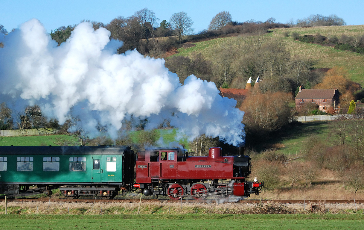 Spa Valley Railway Steam Train
