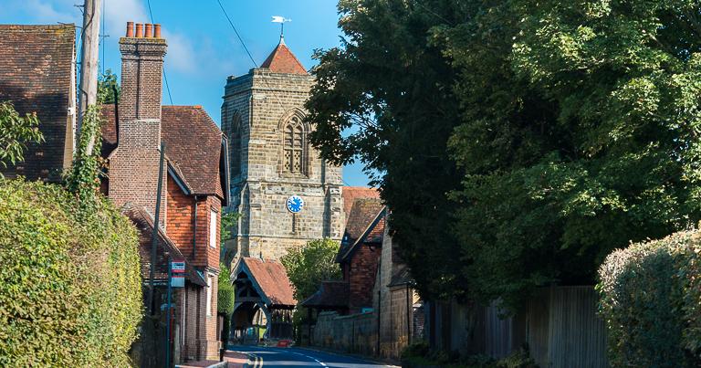 St Mary's church Speldhurst