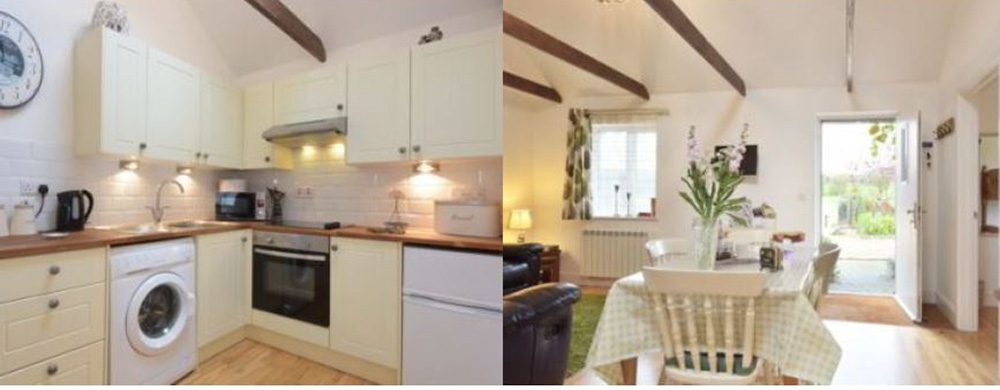 Stable Oak Cottages kitchen
