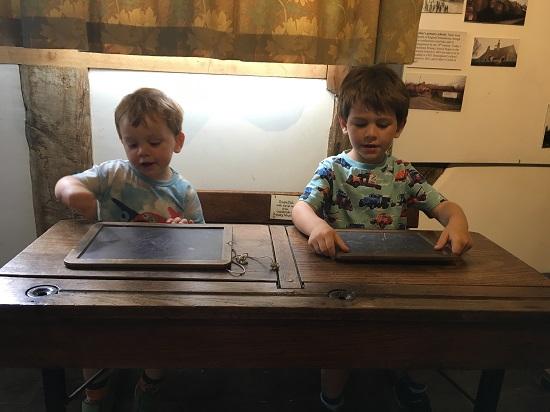 Cranbrook Museum School Desks - Clare Lush-Mansell