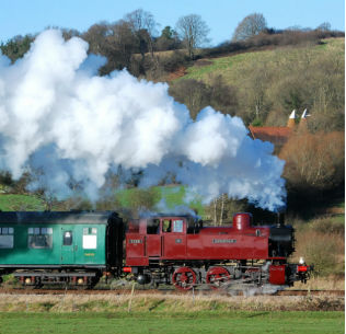 Spa Valley Railway by D Staines