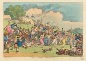 Thomas Rowlandson Print courtesy of Tunbridge Wells Museum & Art Gallery