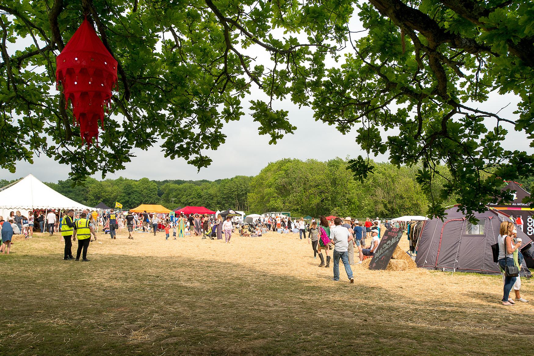 Al-Fresco Festival in Tunbridge Wells - photo by David Hodgkinson