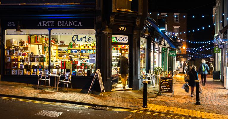 Arte Bianca Italian delicatessen in Royal Tunbridge Wells