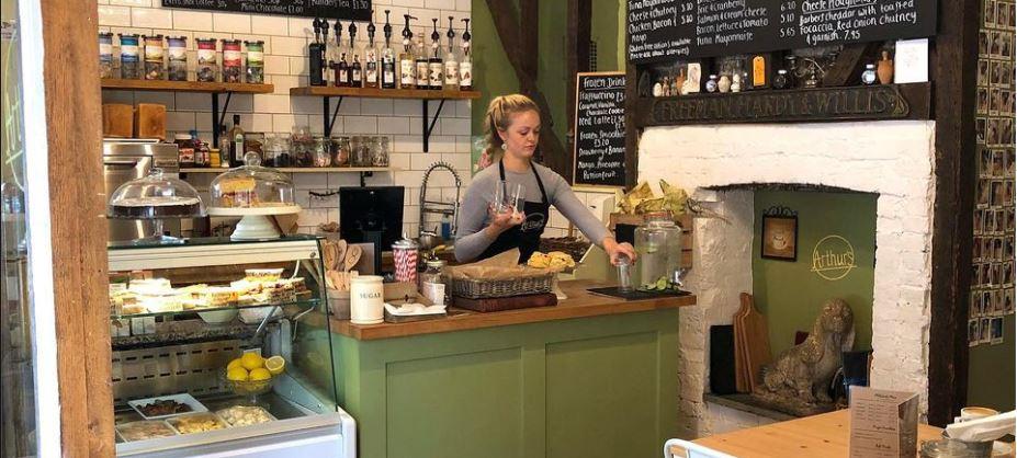 Arthur's Cafe Cranbrook near Tunbridge Wells
