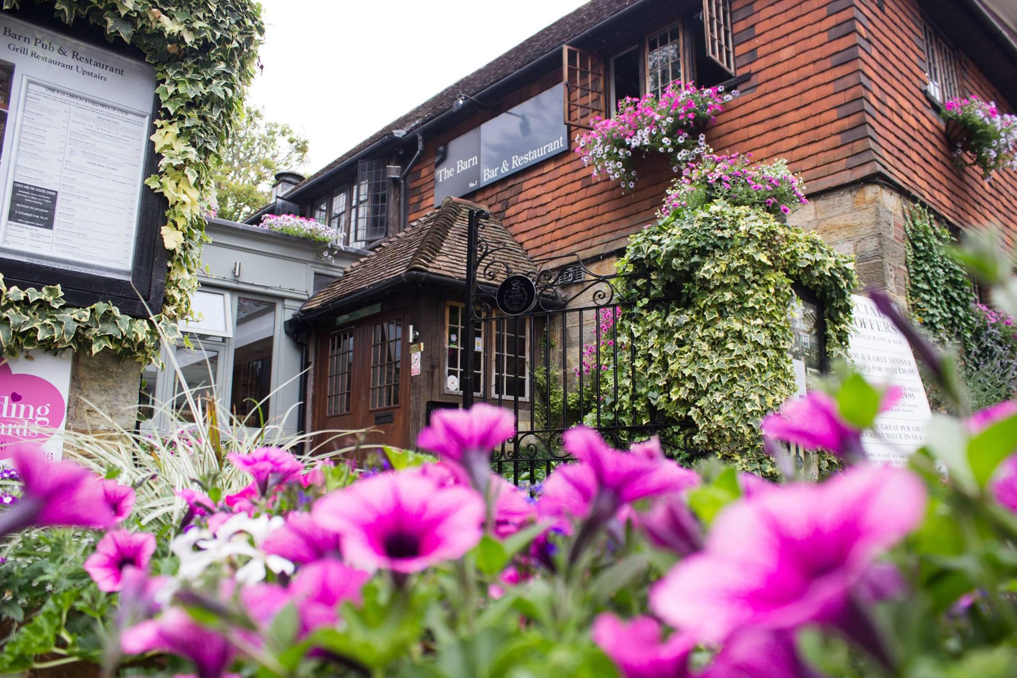 The Barn pub and restaurant, Royal Tunbridge Wells