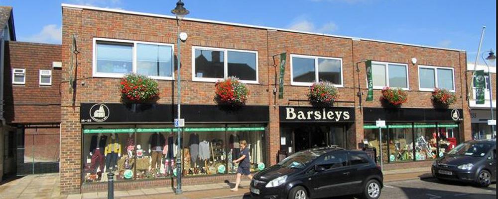 Barsleys Department Store in Paddock Wood near Tunbridge Wells
