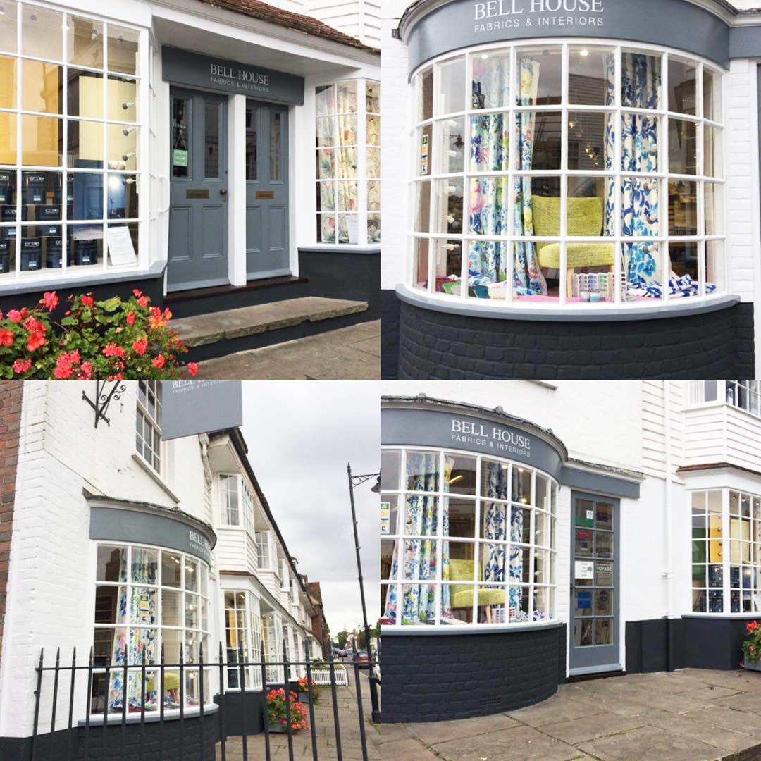 Bell House Fabrics and Interiors shop in Cranbrook, Kent