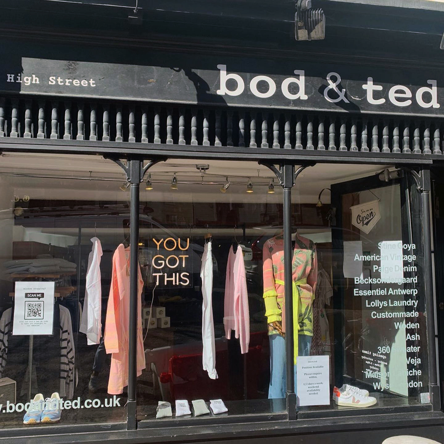 Bod and Ted boutique, Royal Tunbridge Wells