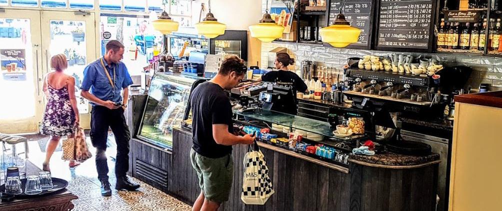 Caffe Nero interior Royal Victoria Place Tunbridge Wells