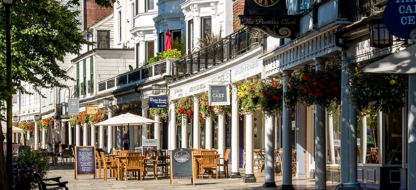 The CakeShed, cafe on The Pantiles, Royal Tunbridge Wells