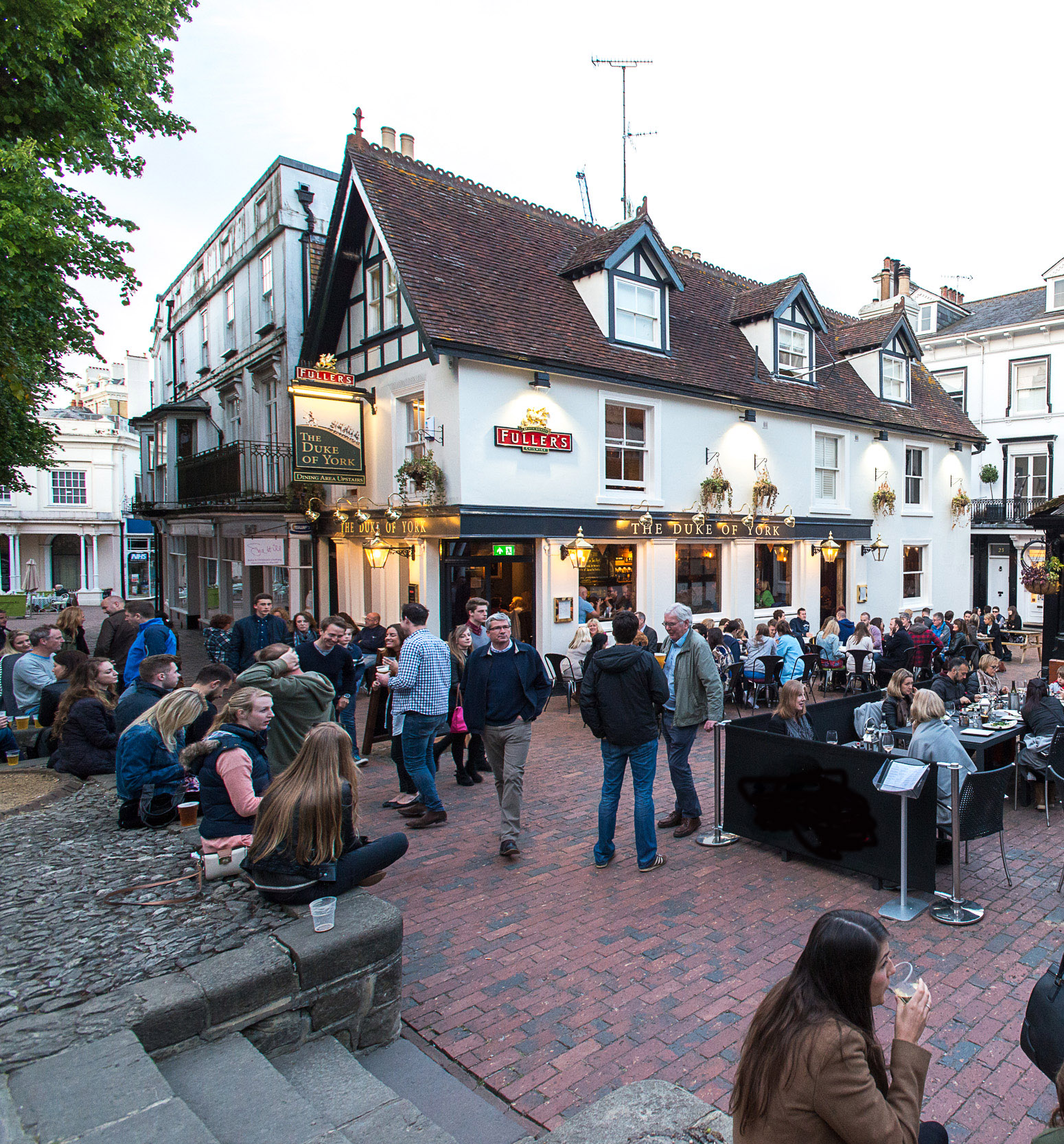The Duke of York, Fullers Pub, The Pantiles, Royal Tunbridge Wells