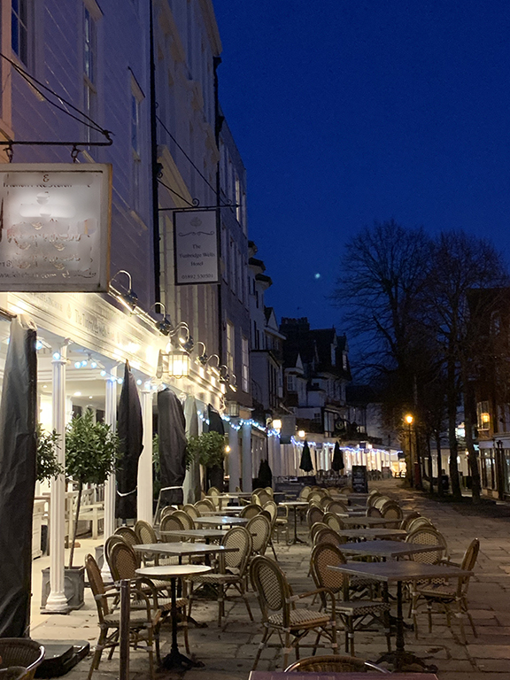 The Eating House, The Pantiles, Royal Tunbridge Wells, Kent