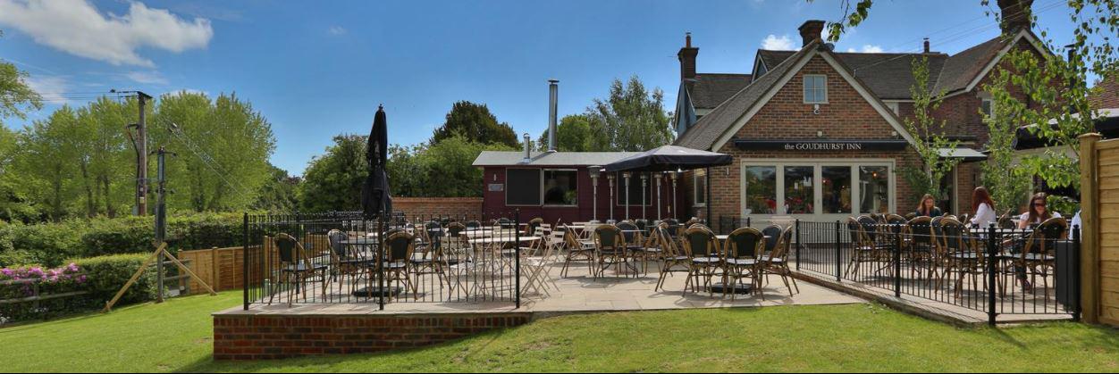 Goudhurst Inn, Goudhurst village, Tunbridge Wells, Kent, part of Hush Heath Winery Estate