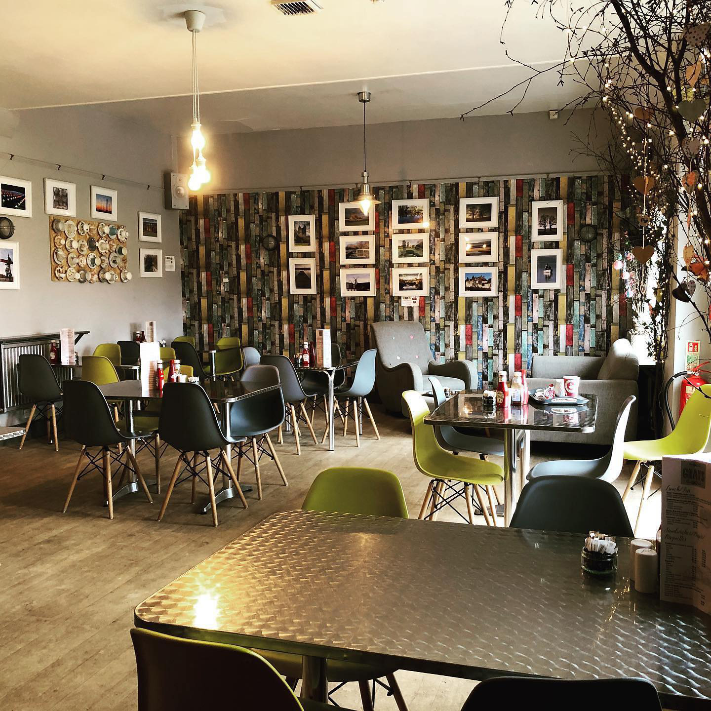 Gray's Licensed Cafe in Brenchley, rural Tunbridge Wells village