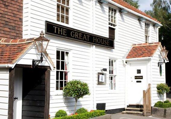 The Great House country pub in Hawkhurst,, Tunbridge Wells