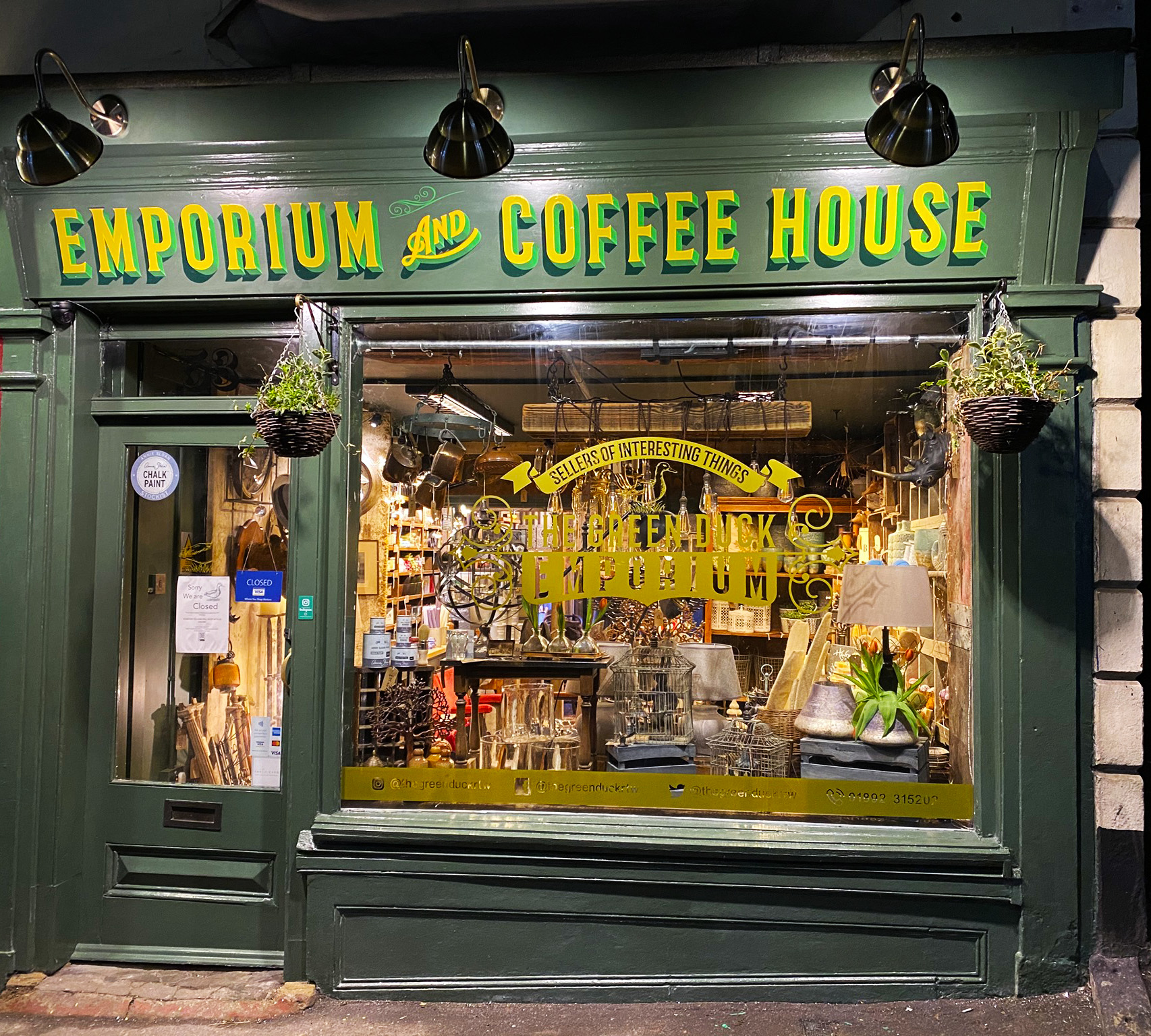 Green Duck Emporium, Royal Tunbridge Wells