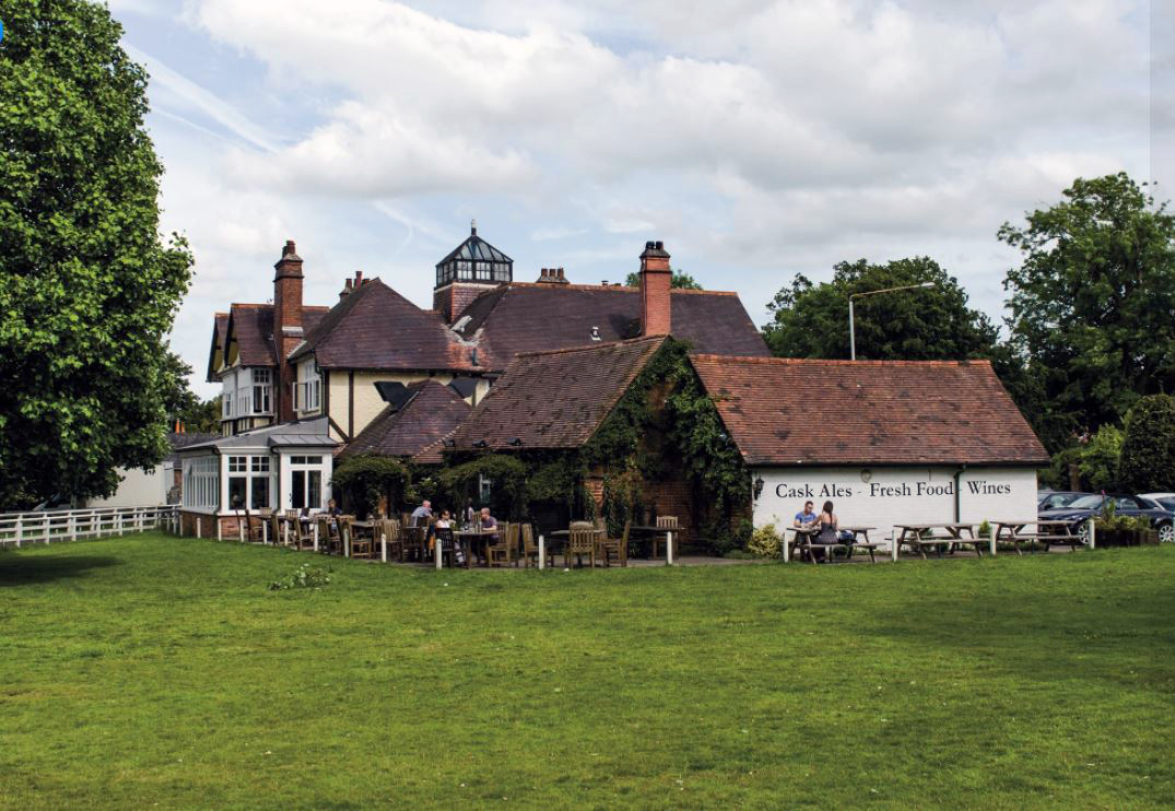 The Hare at Langton Green pub, Royal Tunbridge Wells