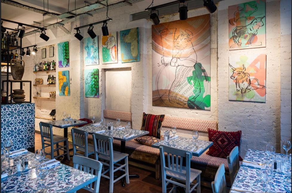Hattusa Turkish restaurant cafe, Royal Tunbridge Wells
