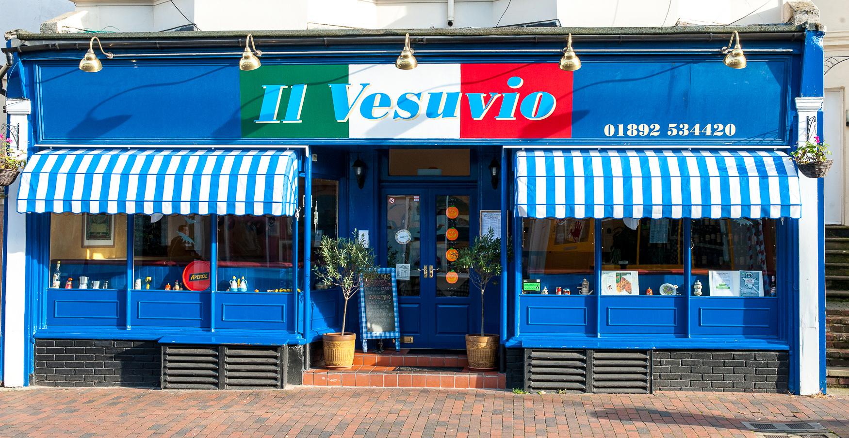 Il Vesuvio Italian restaurant in Royal Tunbridge Wells
