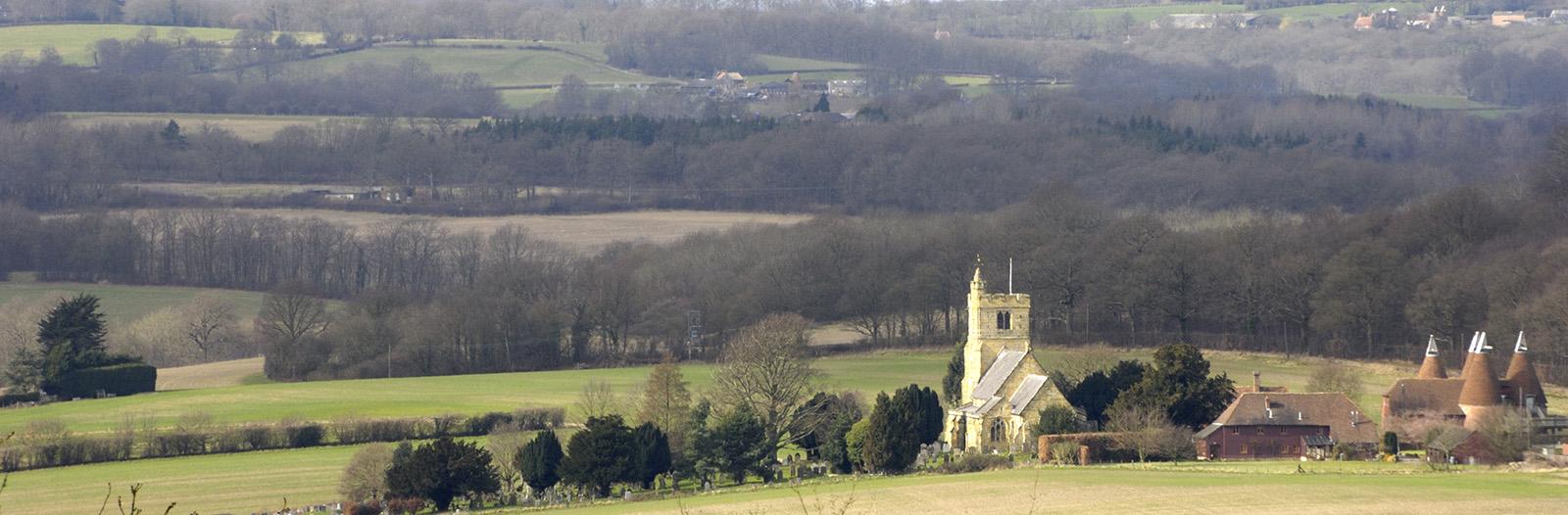 Beautiful Wealden Kent Countryside near Tunbridge Wells (Mike Bartlett)