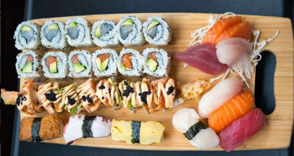 Kitsu sushi and noodle bar, Royal Tunbridge Wells