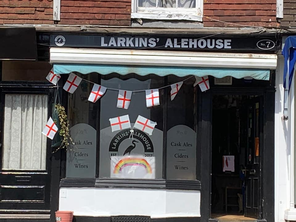 Larkins Alehouse pub in Cranbrook, Kent
