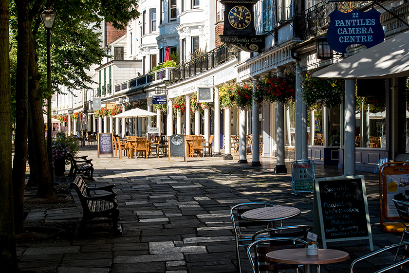 The Pantiles Cafe and Bar, Royal Tunbridge Wells