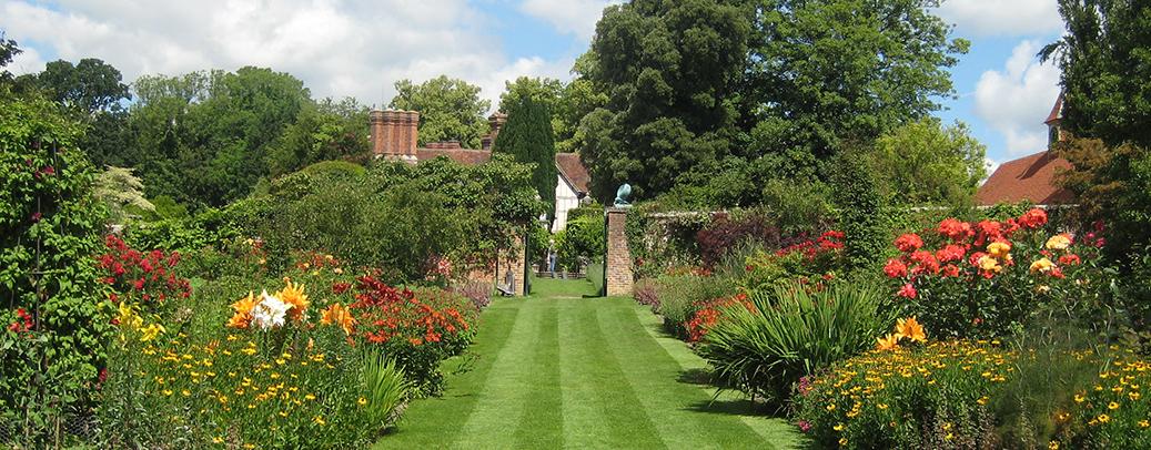 Pashley manor gardens Ticehurst near Tunbridge Wells