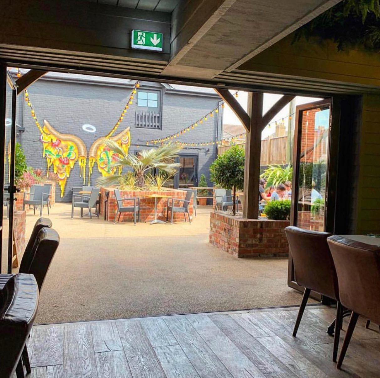 Shuffle House bar and restaurant in Royal Tunbridge Wells