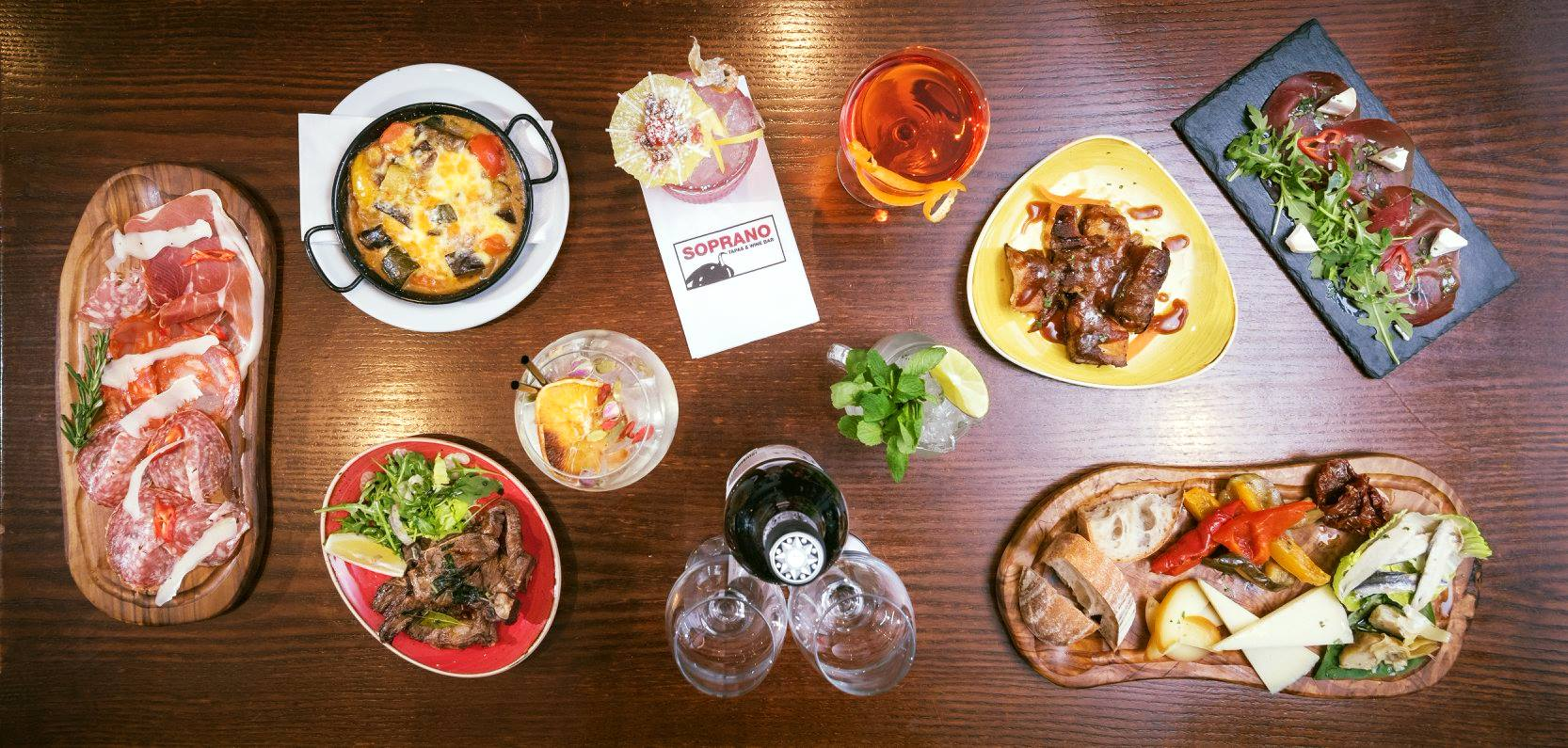 Soprano's tapas and wine bar, Royal Tunbridge Wells