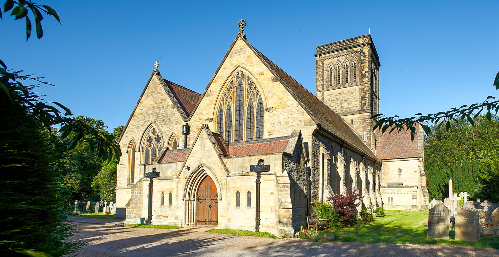 St Paul's Church - Rusthall Village - by David Hodgkinson