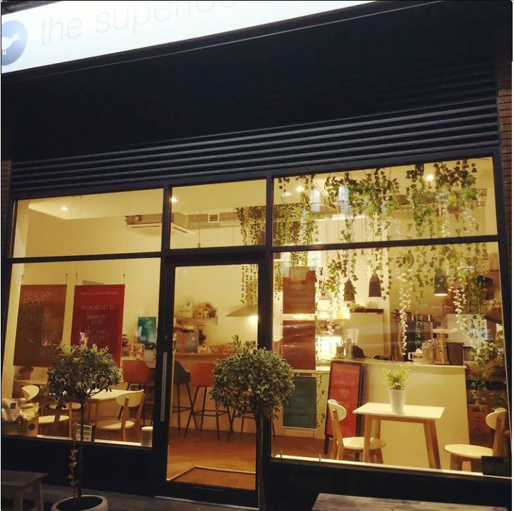 The Superfood Company cafe, Royal Tunbrige Wells