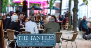 Jazz on the Pantiles by David Hodgkinson