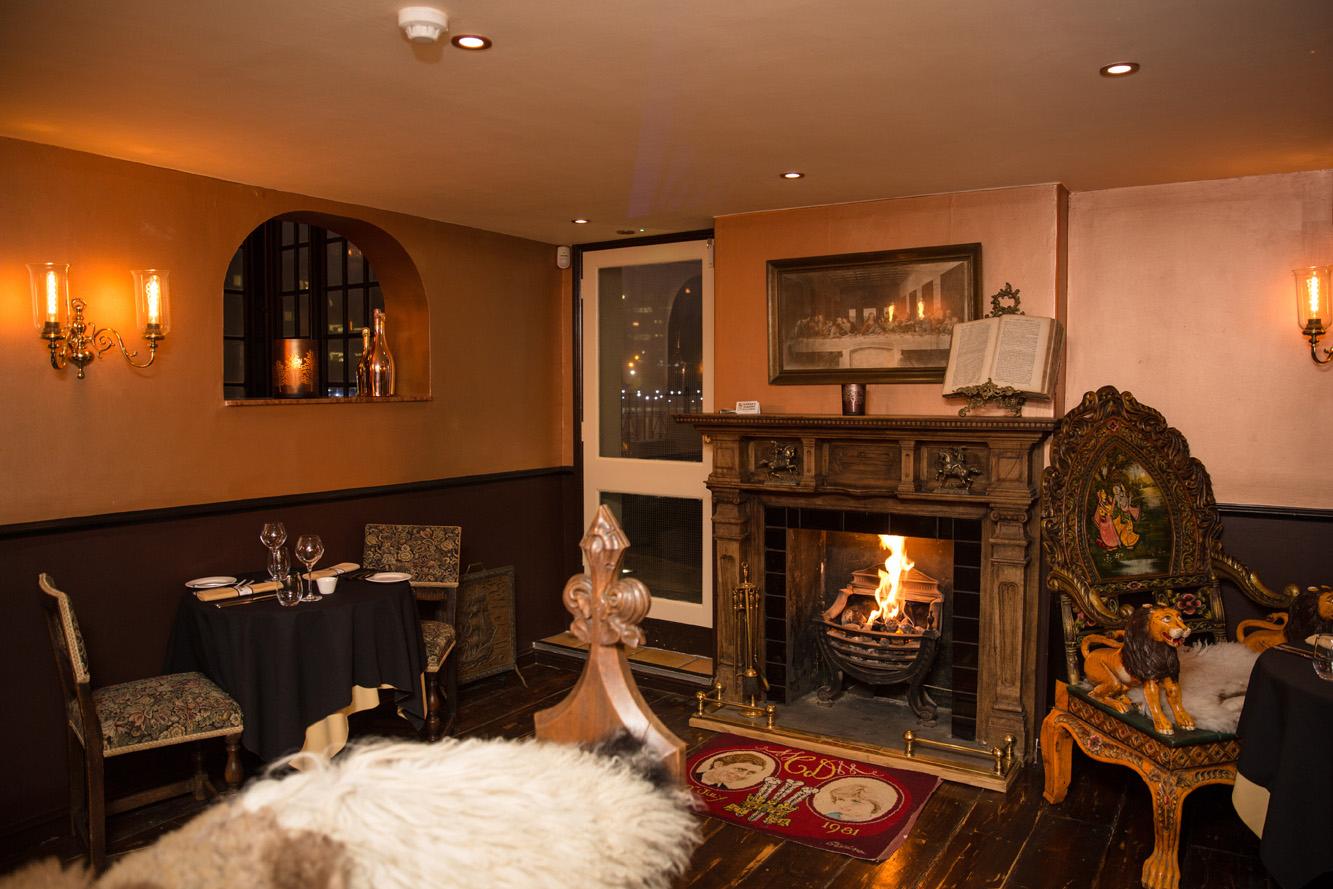 The Warren fine dining restaurant, Royal Tunbridge Wells by David Burke