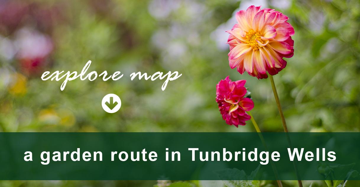 a garden route of Tunbridge Wells