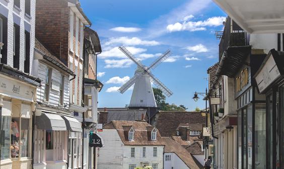 Cranbrook, medieval town in Kent