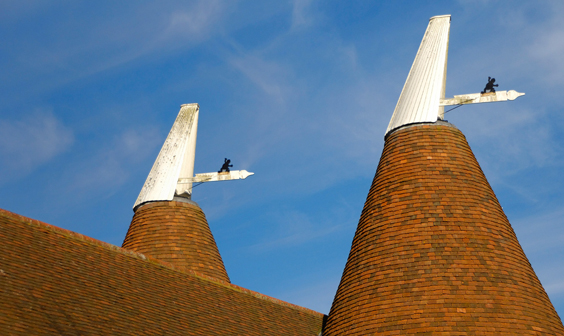 Typical Oast House Roofs
