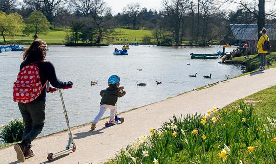 Explore Dunorlan Park by David Hodgkinson