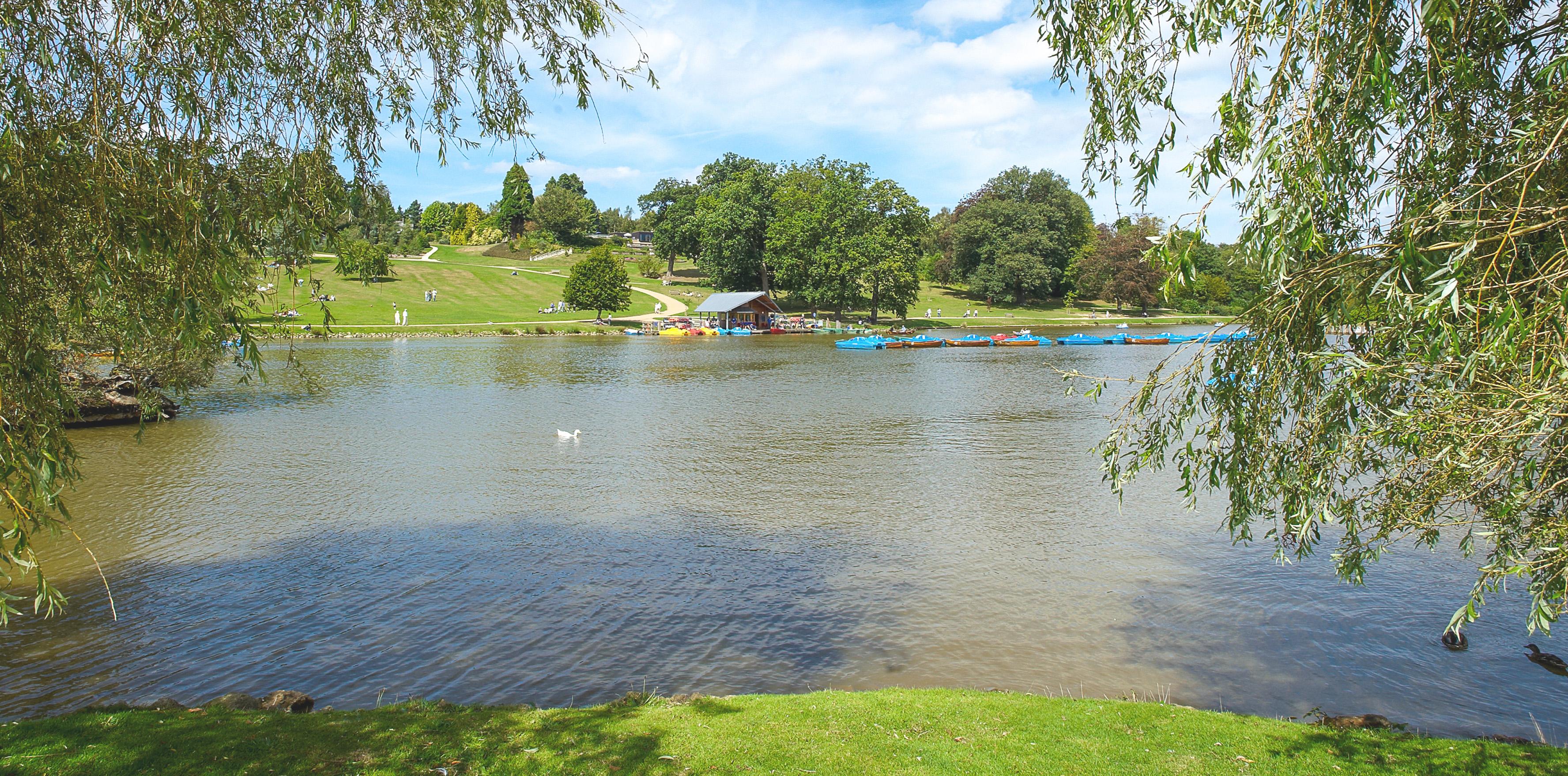 Dunorlan Park Lake
