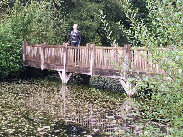 Spa Hotel lake in Royal Tunbridge Wells, Clare Lush